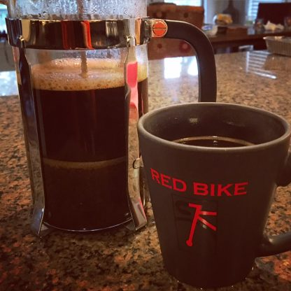 Red Bike Coffee Mug